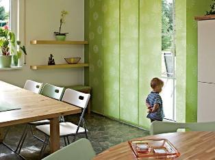 funktionen die fl chengardine als beweglicher sicht und lichtschutz. Black Bedroom Furniture Sets. Home Design Ideas